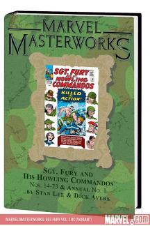 Marvel Masterworks: Sgt. Fury Vol. 2 (Hardcover)