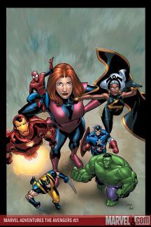 Marvel Adventures the Avengers (2006) #21