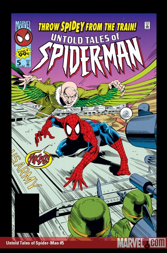 Untold Tales of Spider-Man (1995) #5