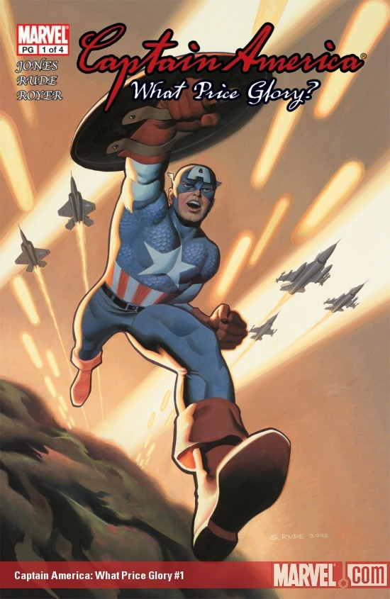 Captain America: What Price Glory (2003) #1
