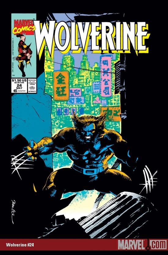 Wolverine (1988) #24