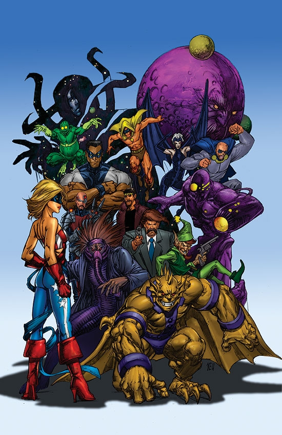 All-New Official Handbook of the Marvel Universe A to Z (2006) #4