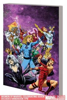 Women of Marvel: Celebrating Seven Decades Handbook (Trade Paperback)