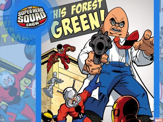 Super Hero Squad (2010) #10 Wallpaper