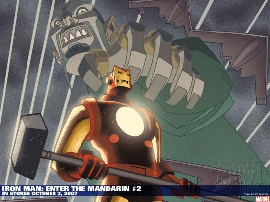 Iron Man: Enter the Mandarin (2007) #2 Wallpaper