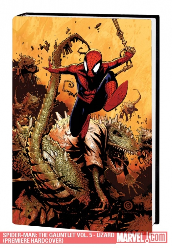 Spider-Man: The Gauntlet Vol. 5 - Lizard (Hardcover)