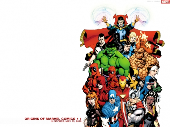 Origins Of Marvel Comics 2010 1 Wallpaper