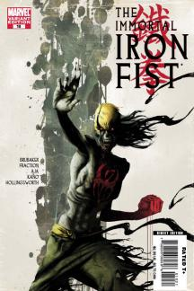 Immortal Iron Fist (2006) #10 (Zombie Variant)