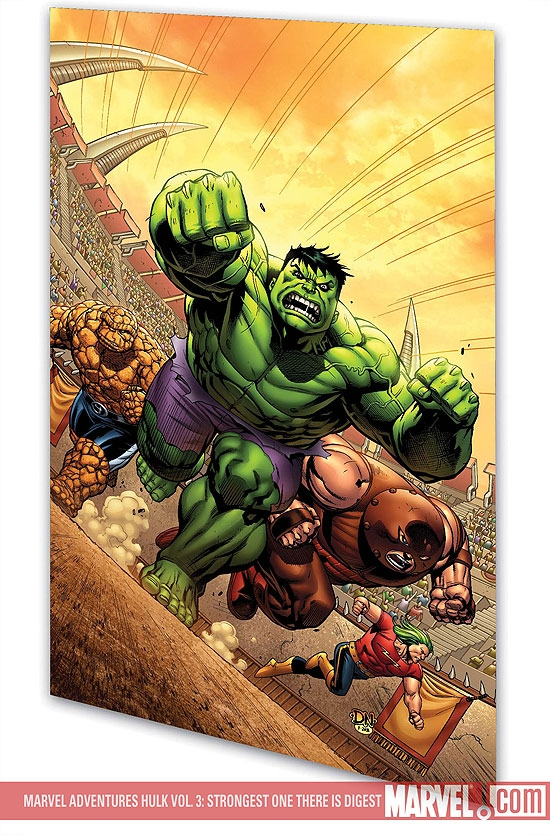 MARVEL ADVENTURES HULK VOL. 3: STRONGEST ONE THERE IS DIGEST (Digest)