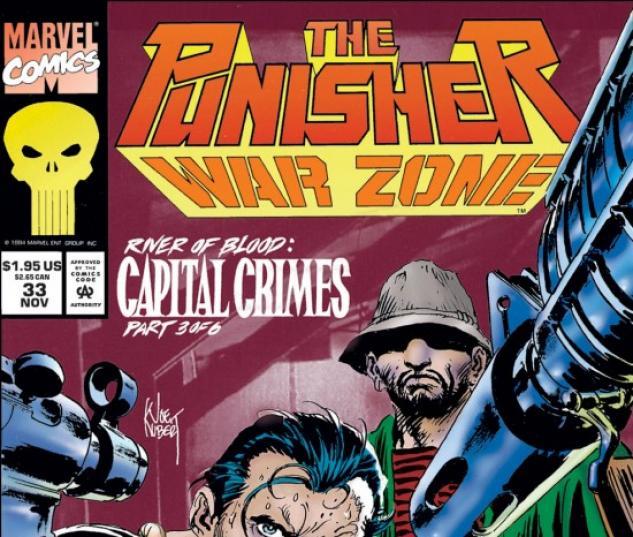 THE PUNISHER: WAR ZONE #33