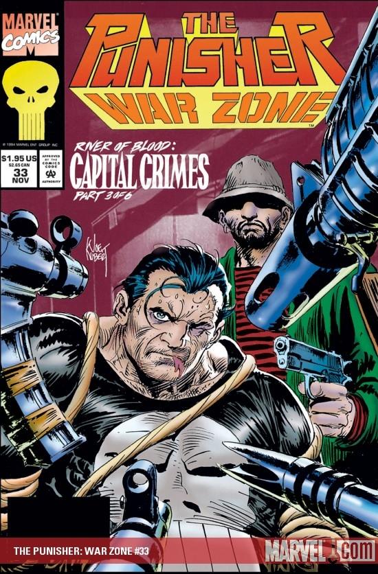 The Punisher War Zone (1992) #33