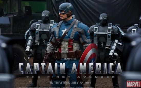 Captain America: The First Avenger Movie Wallpaper #1