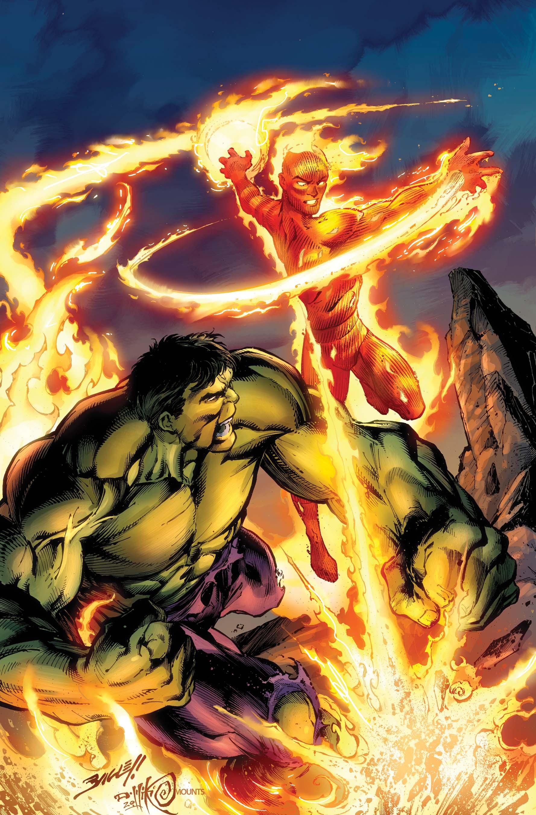 Human Torch & Hulk: From the Marvel Vault (2011) #1