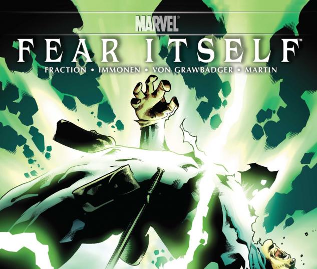 Fear Itself #3 variant cover by Stuart Immonen