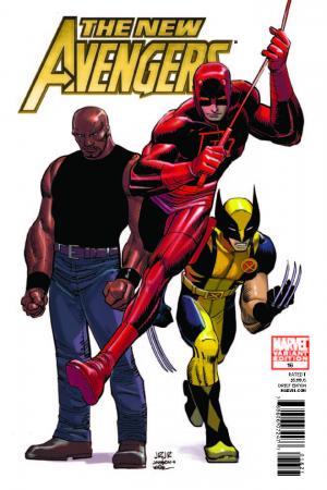 New Avengers (2010) #16 (Architect Variant)