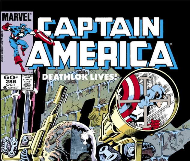 Captain America (1968) #286 Cover