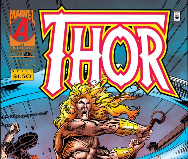 Thor (1966) #495 Cover