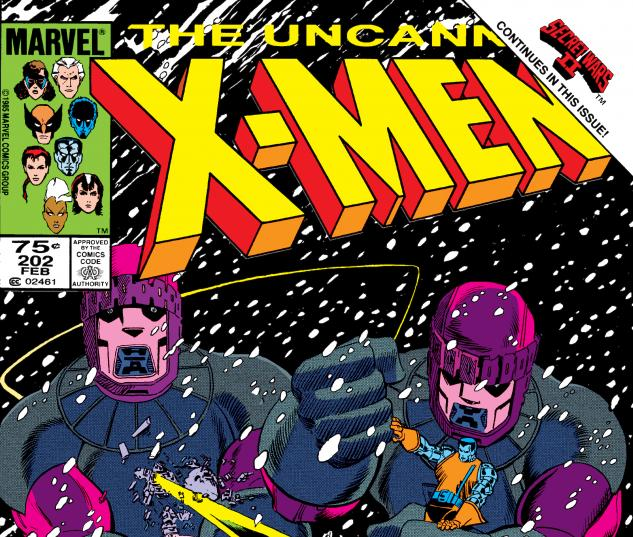 Uncanny X-Men (1963) #202 Cover