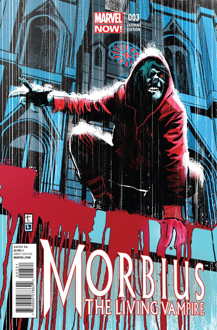 Morbius: The Living Vampire (2013) #3 (Coker Variant)