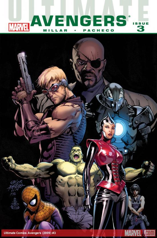 Ultimate Avengers (2009) #3