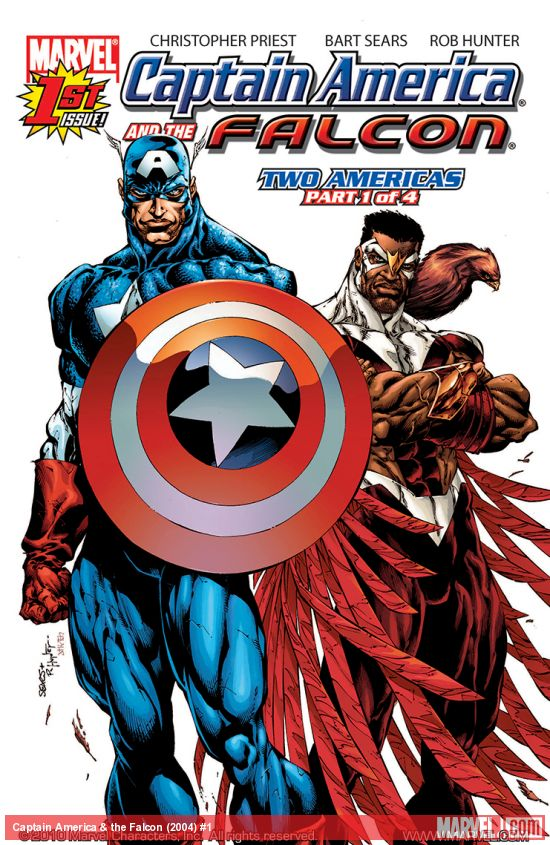 Captain America & the Falcon (2004) #1