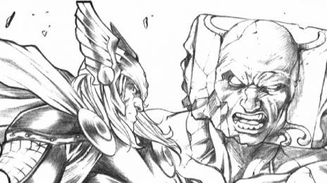 Marvel AR: Stefano Caselli's Process