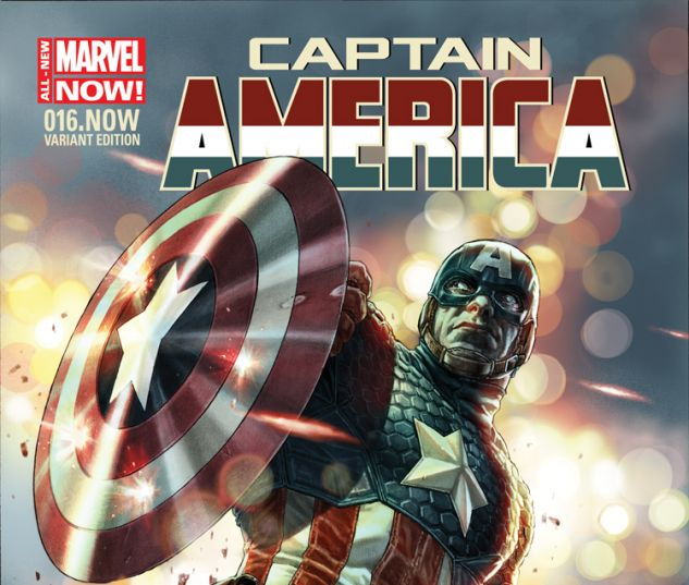 CAPTAIN AMERICA 16.NOW BERMEJO VARIANT (ANMN, WITH DIGITAL CODE)