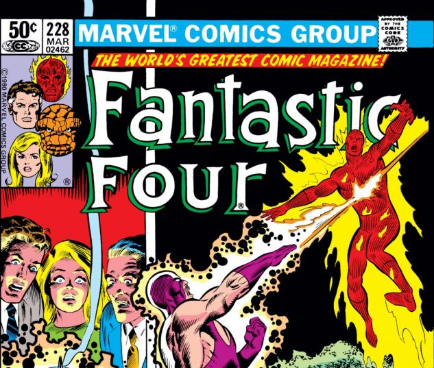 Fantastic Four (1961) #228 Cover