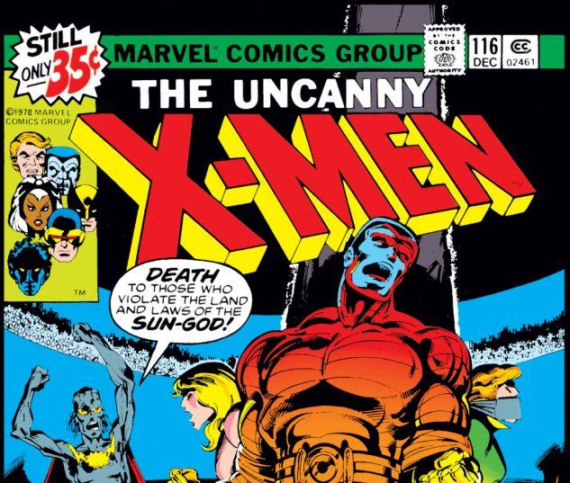 Uncanny X-Men (1963) #116 Cover