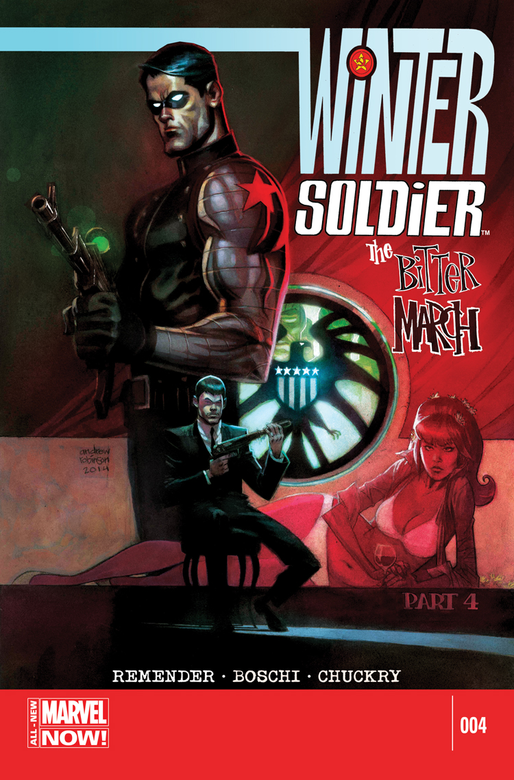 Winter Soldier: The Bitter March (2014) #4