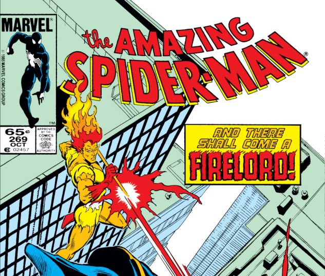 Amazing Spider-Man (1963) #269 Cover