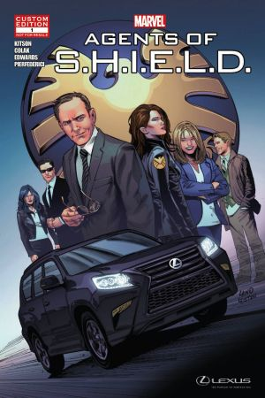 Lexus Presents: Marvel's Agents of S.H.I.E.L.D in THE CHASE (2014) #1