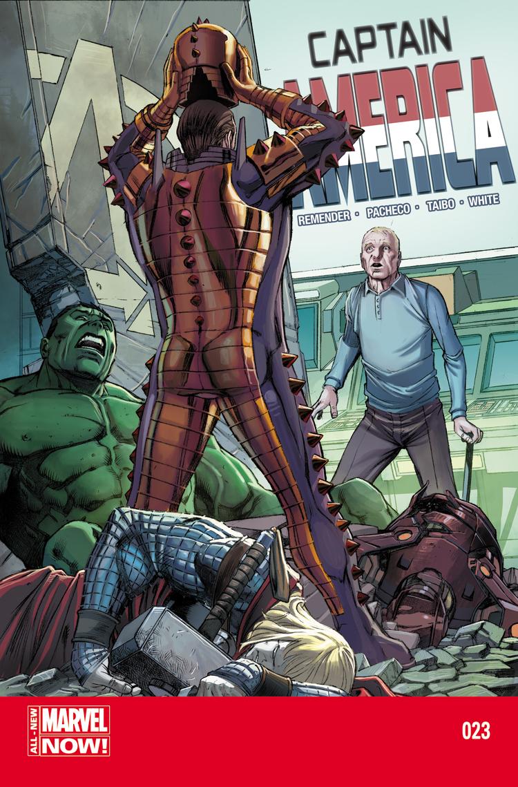 Captain America (2012) #23