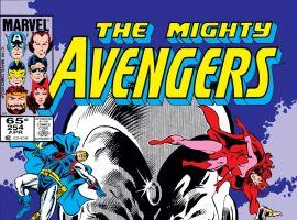 Avengers (1963) #254 Cover