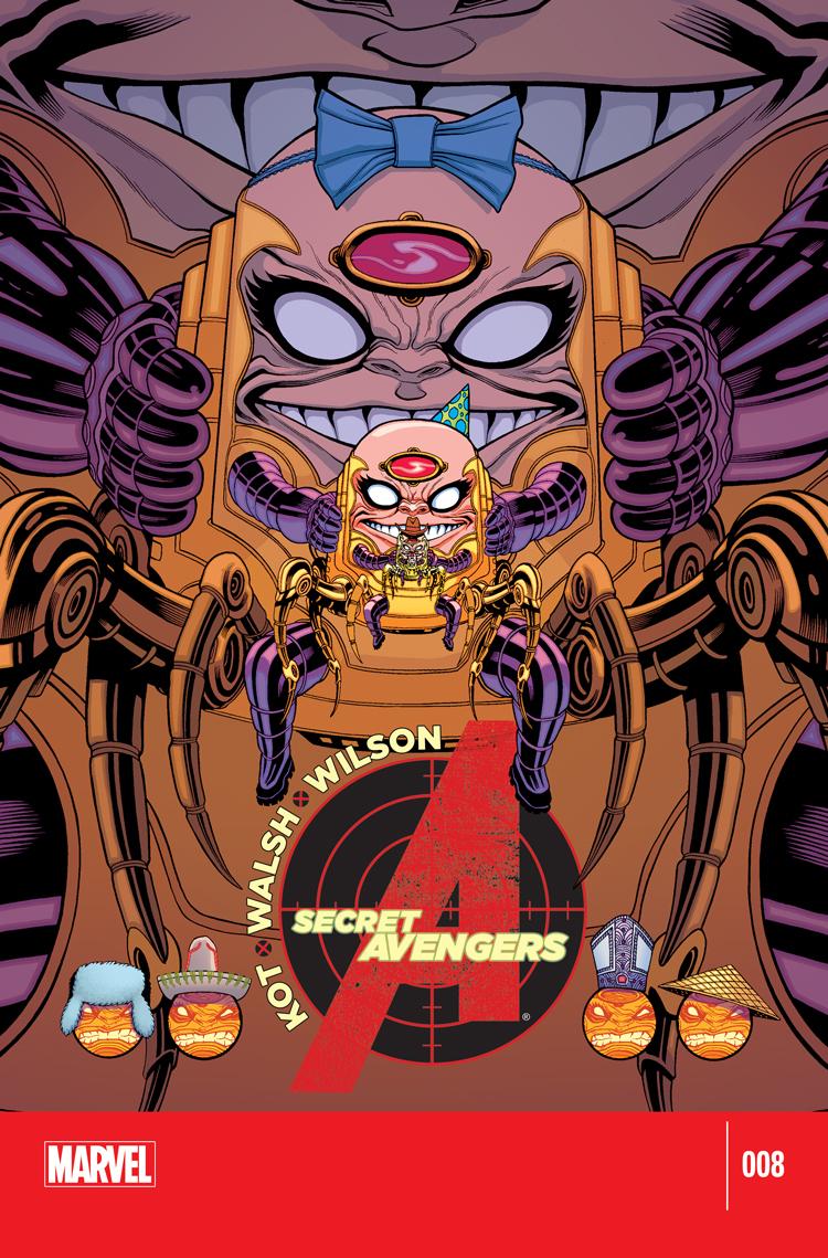 Secret Avengers (2014) #8