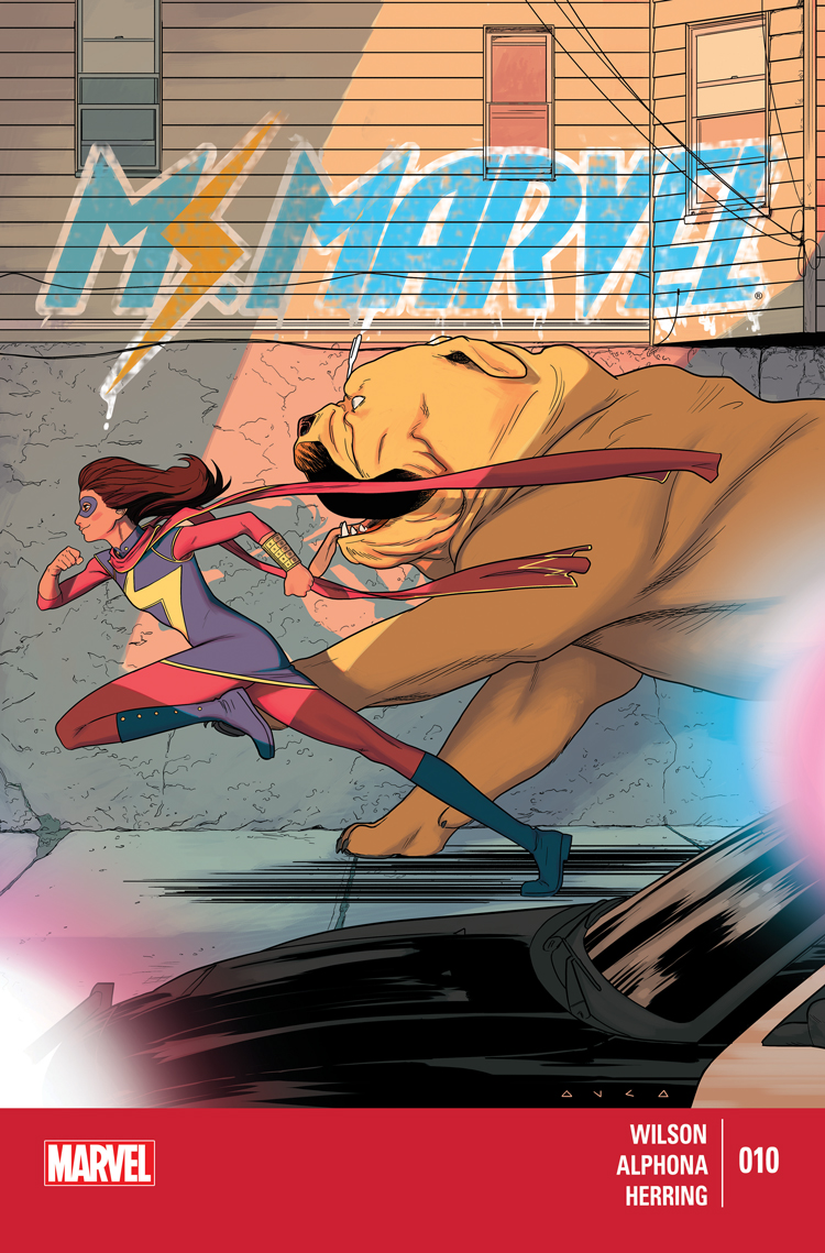 Ms. Marvel (2014) #10