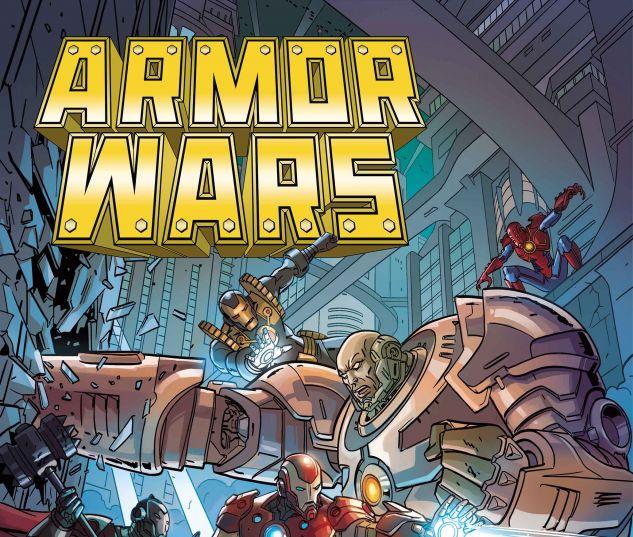 Armor Wars #1 cover by Paul Rivoche