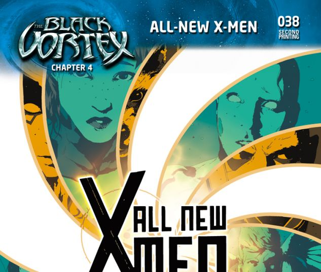 ALL-NEW X-MEN 38 SORRENTINO 2ND PRINTING VARIANT (BV, WITH DIGITAL CODE)