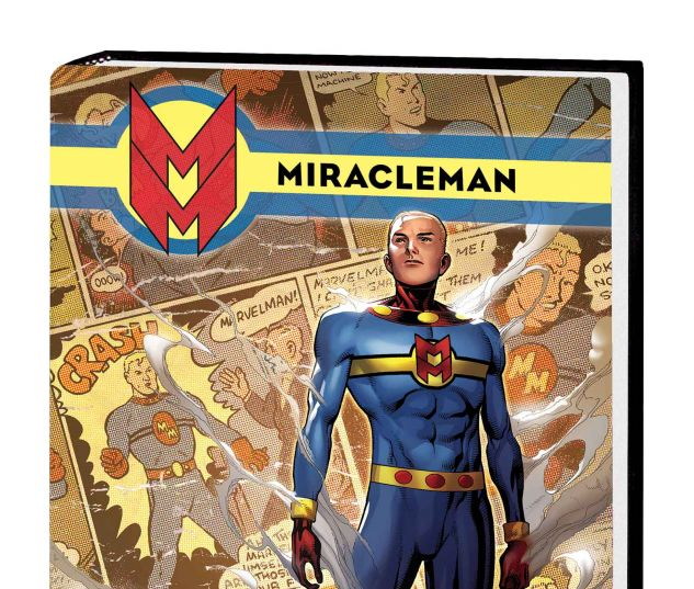 MIRACLEMAN BOOK 3: OLYMPUS PREMIERE HC CHEUNG COVER (DM ONLY, SDOS)