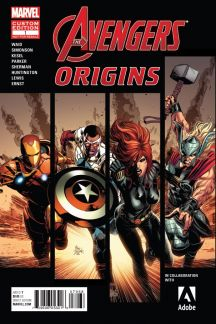 AVENGERS ORIGINS PRESENTED BY ADOBE #1