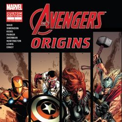AVENGERS ORIGINS PRESENTED BY ADOBE Cover