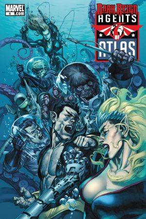Agents of Atlas (2009) #6