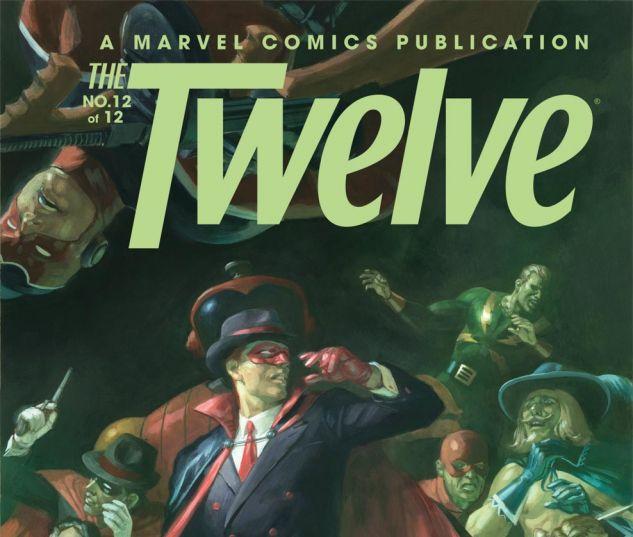 THE TWELVE (2010) #12 Cover