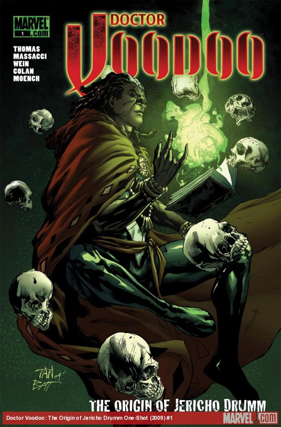 Doctor Voodoo: The Origin of Jericho Drumm One-Shot (2009) #1