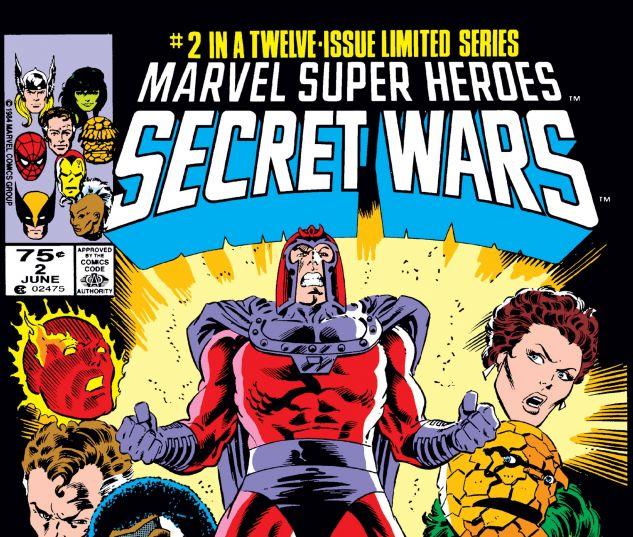 Secret Wars (1984) #2