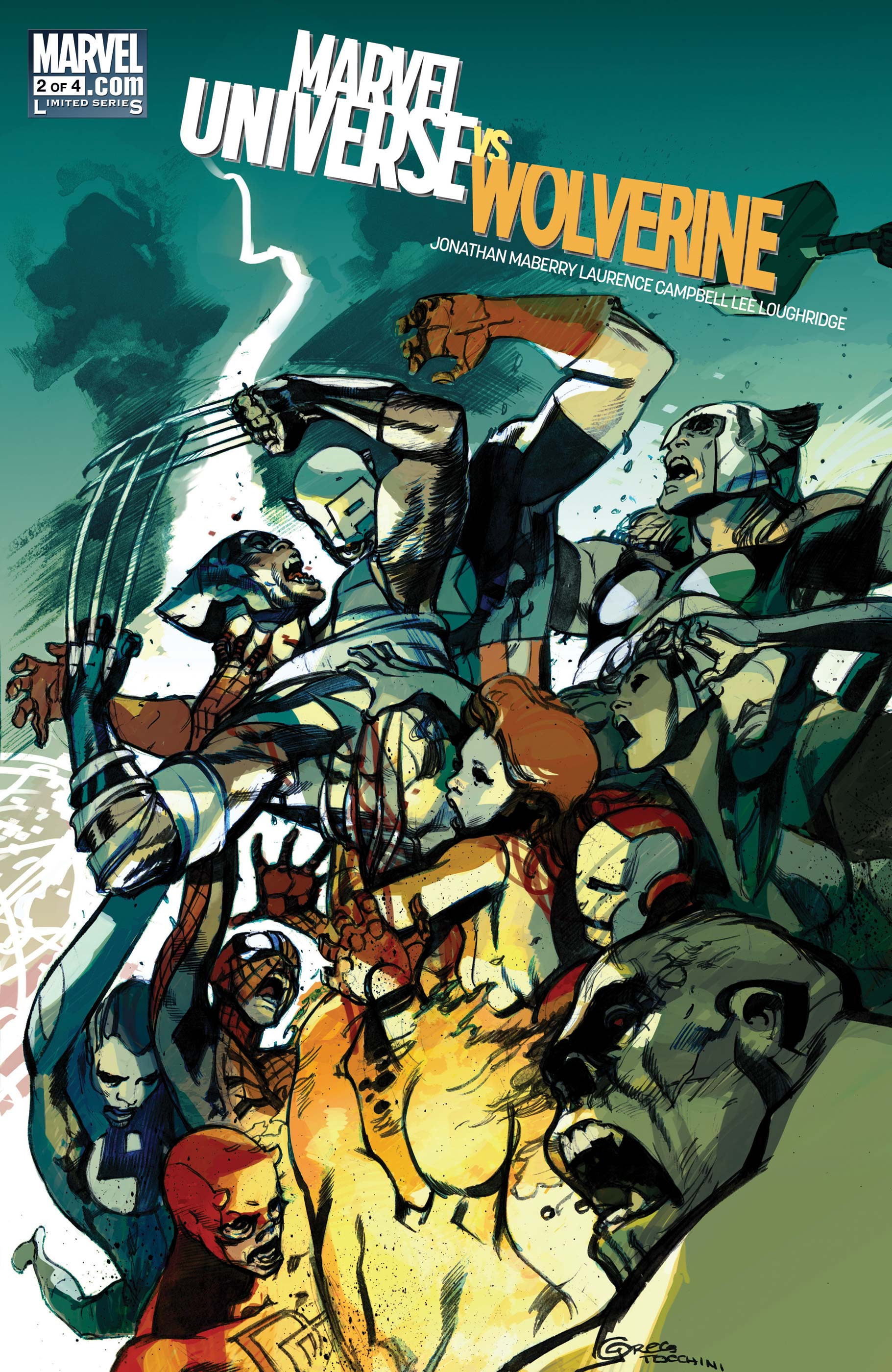 Marvel Universe Vs. Wolverine (2011) #2