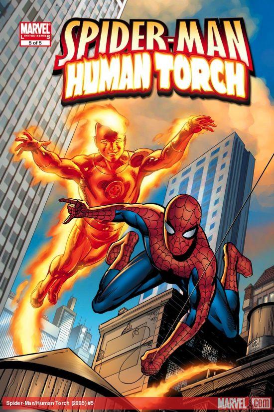 Spider-Man/Human Torch (2005) #5