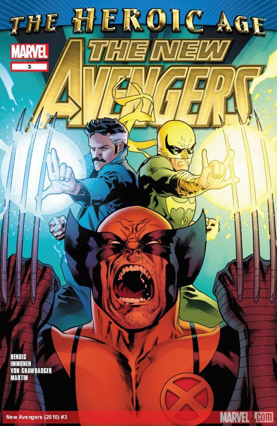 New Avengers (2010) #3