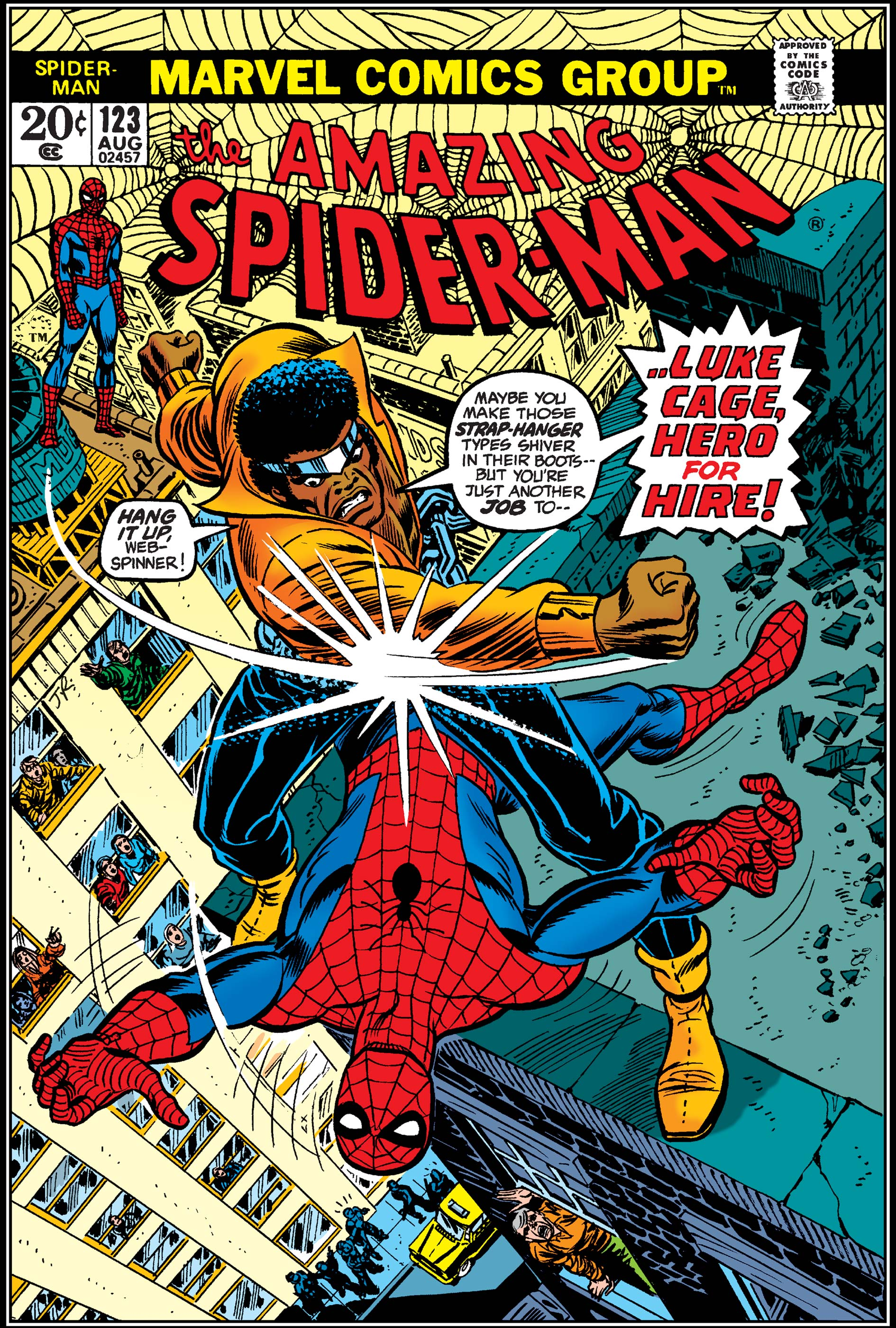The Amazing Spider-Man (1963) #123