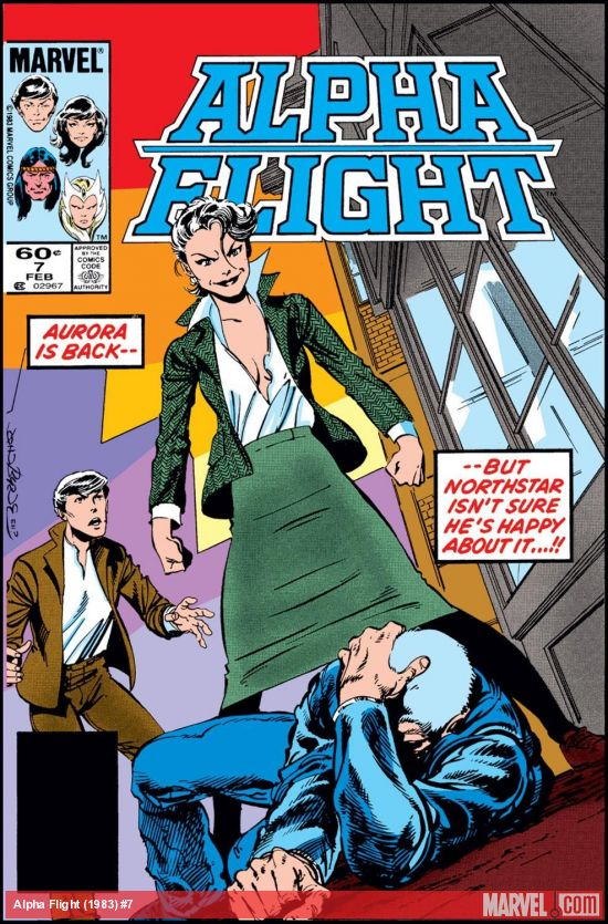 Alpha Flight (1983) #7